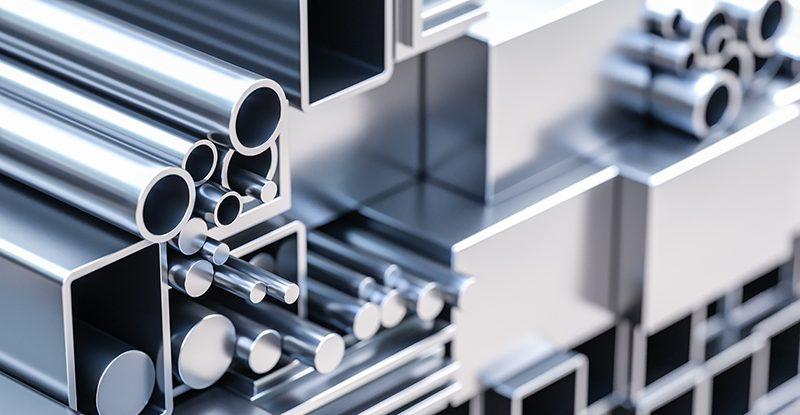 Tubes d'aluminium